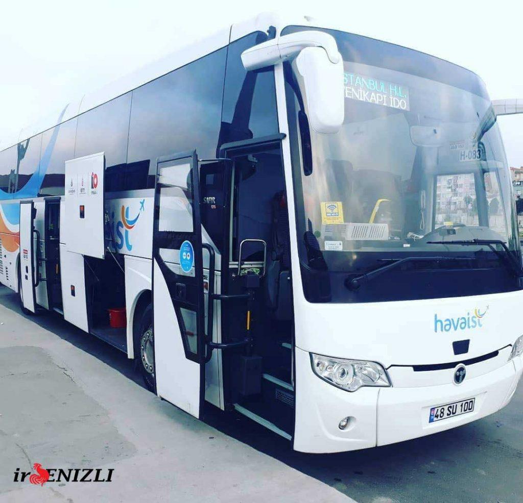 اتوبوس فرودگاه جدید استانبول
